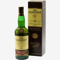 Glenlivet Whisky 15 Jahre French Oak Single Highland Malt